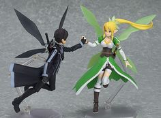 BackAbout Leafa Sword Art Online Figma Figure Leafa comes from the anime series…