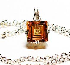 Citrine citrine necklace pristine citrine by Michaelangelas $149.99
