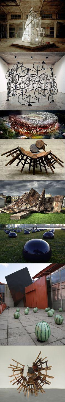 Compilation des installations d'Ai Weiwei, un des artistes majeurs de la scène artistique indépendante chinoise, à la fois sculpteur, performer, photographe, architecte, commissaire d'exposition et blogueur.