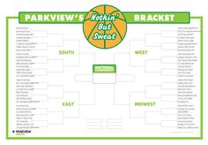 To the victors go the squats - Get in the #MarchMadness spirit with a workout #bracket you'll love | via @ParkviewHealth