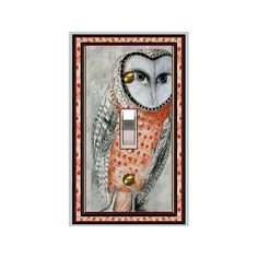 Hey, I found this really awesome Etsy listing at https://www.etsy.com/listing/160759024/owl-design-0142x-mrs-butler-switchplate