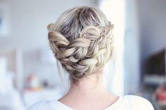 Easy Crown Braid | Cute Girls Hairstyles
