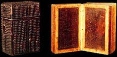 HISTOIRE DE L'ECRITURE -Comptes sur tablettes de cire, Allemagne, début du XVIIe siècle, BnF, Paris.