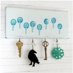 Key holder, Art Club idea!