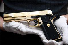 gold 1911 .45
