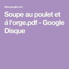 Soupe au poulet et à l'orge.pdf - Google Disque