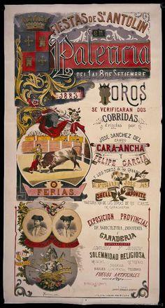 Fiestas de Sn. Antolin en Palencia. Palencia Ayuntamiento — Dibujos, grabados y fotografías — 1883