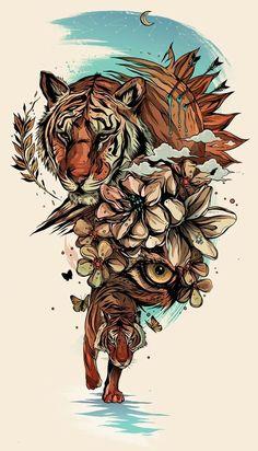 alexander wells mind blowing illustrated art gallery is part of Tiger tattoo - Alexander Wells, Mind Blowing Illustrated Art Gallery Illustrationart Tattoo Tatoo Symbol, Tatoo Art, Tattoo Drawings, Art Drawings, Tattoo Ink, Anker Tattoo Design, Tatoo Manga, Illustration Art Dessin, Tattoo Bauch