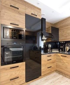 The kitchen that is top-notch white kitchen , modern kitchen , kitchen design points! Modern Kitchen Interiors, Luxury Kitchen Design, Kitchen Room Design, Modern Kitchen Cabinets, Kitchen Cabinet Design, Home Decor Kitchen, Interior Design Kitchen, Kitchen Furniture, New Kitchen