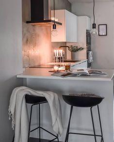Home Decor Kitchen, Kitchen Interior, Home Interior Design, Home Kitchens, Dream Home Design, House Design, Aesthetic Room Decor, Küchen Design, Lofts
