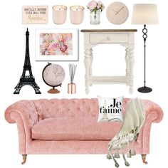 Inspiration From Paris by monmondefou on Polyvore featuring interior, interiors, interior design, hogar, home decor, interior decorating, AERIN, Merci Gustave!, Jamie Young and Lemnos