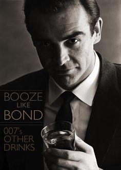 Booze Like Bond: 007′s Other Drinks