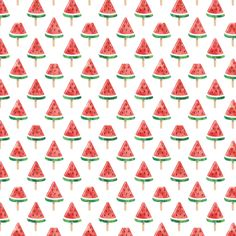scale) watermelon popsicles - red custom fabric by littlearrowdesign for sale on Spoonflower Watermelon Popsicles, Red Fabric, Custom Fabric, Spoonflower, Craft Projects, Scale, Fabrics, Colorful, Quilts