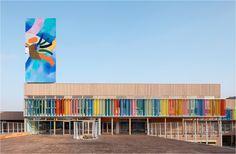 Schulkomplex Louis Pasteur von r2k architectes