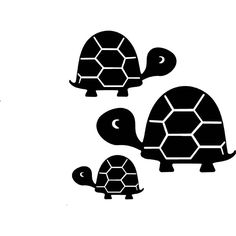 "Three Turtles Vinyl Wall Art Decal 23""x 21"" $17.99 Vinyl Wall Art, Home Wall Art, Vinyl Decals, Ninja Gear, Cute Animals, Nursery, Turtles, Pisces, Handmade Gifts"