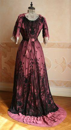 Dress, ca 1909, Abiti Antichi