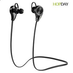Sports Headphones - News Bluetooth Headphones, HOPDAY Bluetooth Earbuds V4.1 Wireless Sports Headphones Sweatproof Running Gym Stereo Headsets Built-in Mic/APT-X for iPhone 6s 6s plus Galaxy S6 S5 and Android Phones buy now $59.99 HOPDAY Luxury Bluetooth Headphones Product Description: HOPDAY Luxury Wireless Bluetooth Headphones Stereo Headset delivers a ...... - If you usually go out to run, walk or any other sport in which you usually carry music to accompany or motivate you, we have...