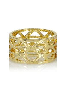 Arme De L'Amour Gold-plated ring | NET-A-PORTER