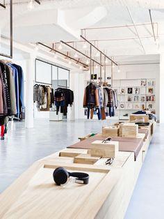 Interior de loja