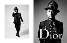 dior-homme-summer-17-ad-campaign-feat-asap-rocky-boy-george-4 | Trendland