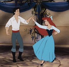 Image result for ariel's town dress