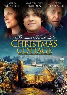 The Christmas Cottage (2008) A look at the inspiration behind Thomas Kinkade's painting The Christmas Cottage, and how the artist was motivated to begin his career after discovering his mother was in danger of losing their family home. Peter O'Toole, Jared Padalecki, Marcia Gay Harden...TS bio