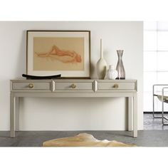 """sOMERSET BAY SBT307     Mod Three Drawer Console     w 66"""" h 30.5 d 20"""" AVAILABLE IN MANY COLORS"""