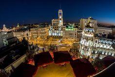 Descubre las mejores vistas de Madrid capital y sus miradores imprescindibles: terrazas de moda, lugares históricos y hoteles privilegiados.