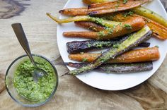 Add some color by buying multicolor carrots and upcycle that pesto by using it to add some flavor to other foods, such as eggs or pasta. Get the recipe from Spoon University.   - Delish.com