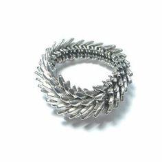 Armband silber Schuppen Silver Rings, Diamond, Bracelets, Jewelry, Backyard Sheds, Silver, Bangles, Jewellery Making, Jewels