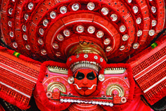 Theyyam of Kerala