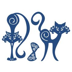 Tattered Lace Die Cats | Hobbycraft