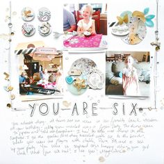You Are Six by soapHOUSEmama at @studio_calico
