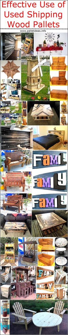 Effective Use of Used Shipping Wood Pallets