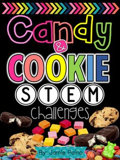 Are you ready to start STEM challenges in your classroom? Or are you ready to ENHANCE your already awesome STEM lessons? This is the PERFECT packet to do so!! In this packet you will find FOUR fun and interactive STEM challenges all based around children's favorite things CANDY AND COOKIES!