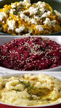 Aprenda a fazer 3 diferentes e deliciosos tipos de purê de batata!