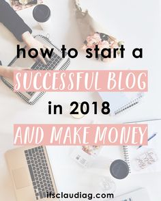 Starting a blog only takes a few minutes and is the best side hustle I have ever done to earn extra money! This is the best guide on how to start a profitable blog for begginers. Start a successful blog and make money in 2018 with this guide to set up with Bluehost.