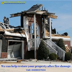 At #BiositeCleanup, we specialise in the inspection of #firedamage, fire and #smokeremediation in Goulburn, Canberra, Batemans Bay and NSW areas.