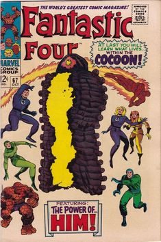 FANTASTIC FOUR #67_OCT 1967 VF MINUS_1st FULL APPEARANCE - Ebay