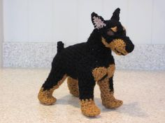 Miniature Pinscher Crochet Pattern.