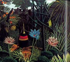Henri Rousseau.....this is one of my top favorites
