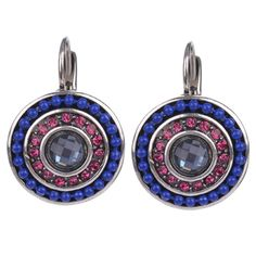 Now available on our Store: 2 Colors Vintage ... Check it out here! http://www.flairpick.com/products/2-colors-vintage-silver-women-simple-blue-beads-pink-zircon-charms-statement-clip-on-stud-earrings-for-women-fashion-jewelry
