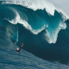La foto perfecta de la ola perfecta