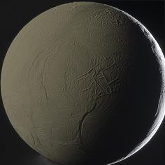 Enceladus Backlit by Saturn    This moon is shining by the light of its planet. Specifically, a large portion of Enceladus pictured above is illuminated primarily by sunlight first reflected from the planet Saturn.     Source:APOD   Image Credit: Cassini Imaging Team, SSI, JPL, ESA, NASA; Color Composite: Gordan Ugarkovic   Link: http://antwrp.gsfc.nasa.gov/apod/ap120208.html