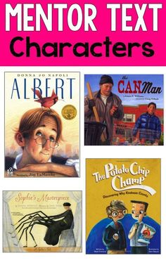 Reading Mentor Texts-Great mentor texts for teaching characterization and changes in characters! Reading Strategies, Reading Skills, Teaching Reading, Reading Comprehension, Comprehension Strategies, Guided Reading, Reading Resources, Teaching Ideas, Close Reading