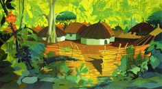 Visual Development from The Jungle Book by Walt Peregoy - Disney Concepts & Stuff