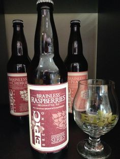 Epic's Brainless on Raspberries | Bloggers of Beer