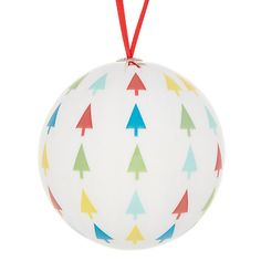 Buy House by John Lewis Decoupage Tree Bauble, Multi Online at johnlewis.com