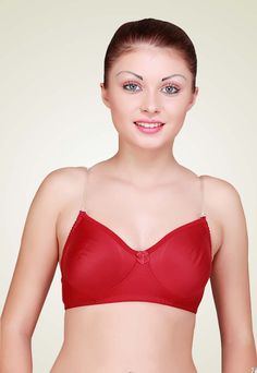 8fcdb6ba56a62 Floret Labella Non Padded Bra Maroon Designed to suit your delicate skin