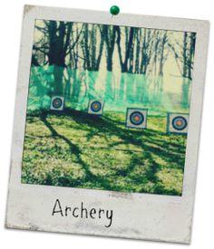 Archery, Carreg Adventure, Stouthall Country Mansion